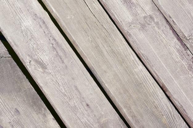 灰色の木の表面のクローズアップショット