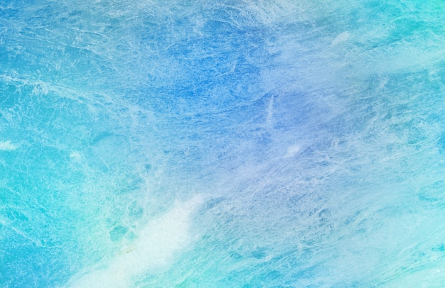 Closeup surface abstract pattern at the blue marble stone wall textured background