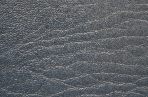 Closeup surface black leather of old wallet texture background