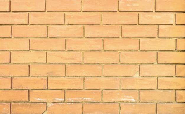 Closeup surface brown brick wall texture