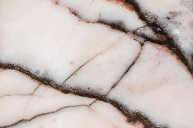 Closeup surface crack marble floor texture background