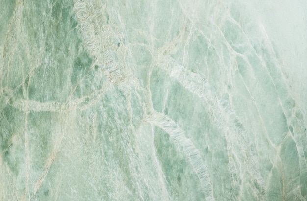 Closeup surface of green marble