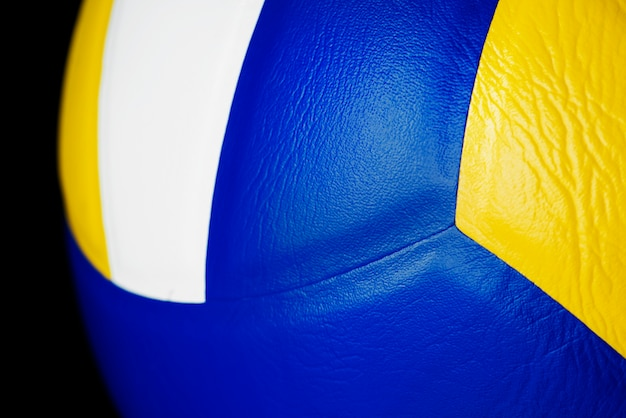 Closeup of volleyball