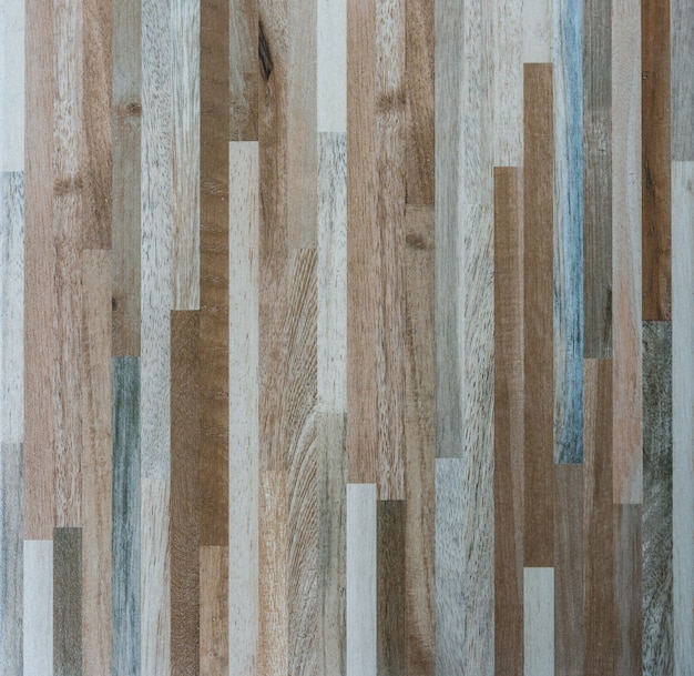 Closeup of the wood pattern on the floor tile.