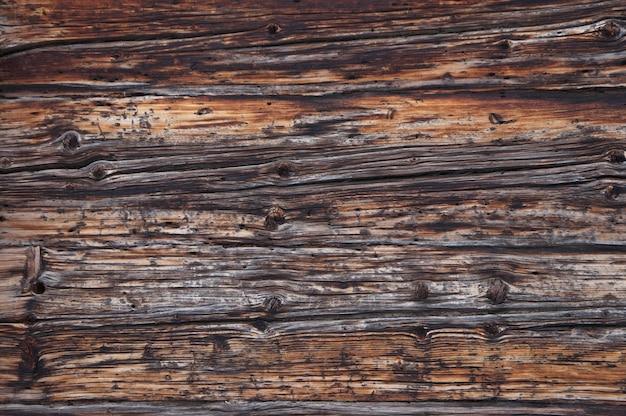 Primo piano della superficie in legno