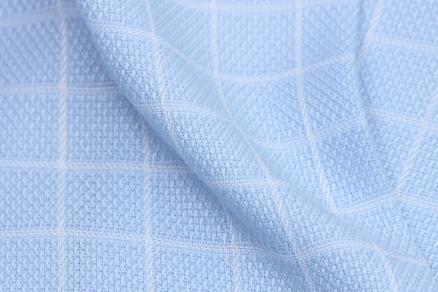 Tessuto di stoffa con quadrati