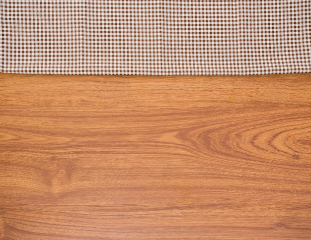Cloth and wood background