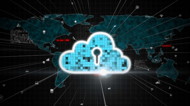 Cloud computing and data storage technology for future innovation