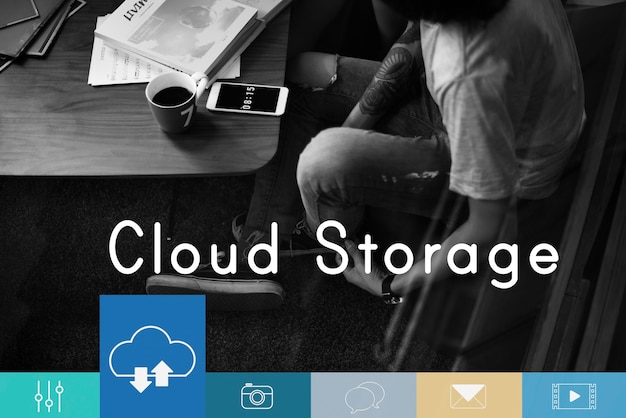 Cloud computing storage loading