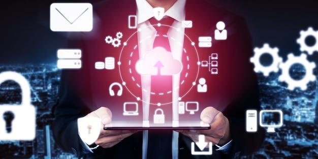 グローバルデータ共有のためのクラウドコンピューティングテクノロジーとオンラインデータストレージ