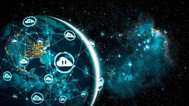 혁신적인 인식의 클라우드 컴퓨팅 기술 및 온라인 데이터 저장