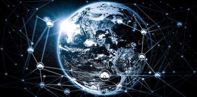 革新的な認識におけるクラウドコンピューティングテクノロジーとオンラインデータストレージ