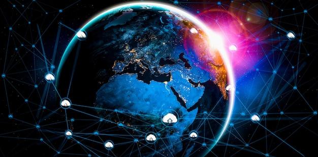 クラウド コンピューティング テクノロジーとオンライン データ ストレージ