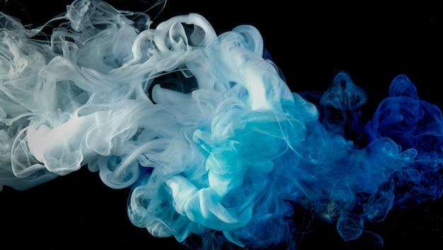 구름 잉크 색상 혼합 개요