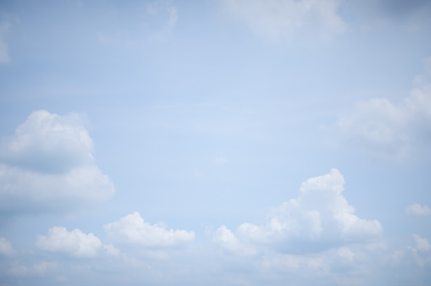 Cloud sky background in the daytime