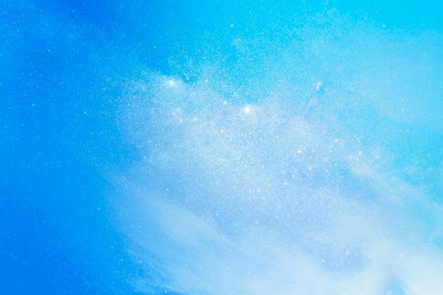 Clouds in a blue sky background
