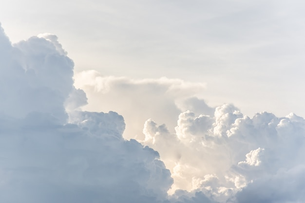 Clouds in blue sky texture wallpaper