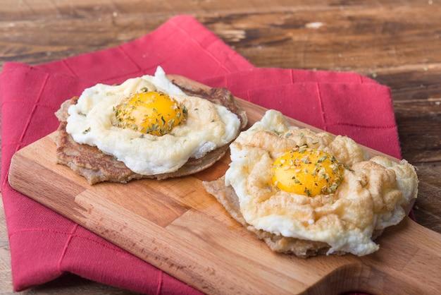 Clouds in eggs