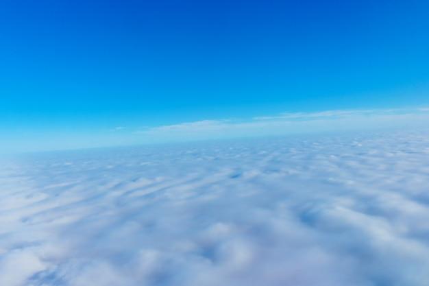 雲空雲飛行美しい、自然、雲景空気