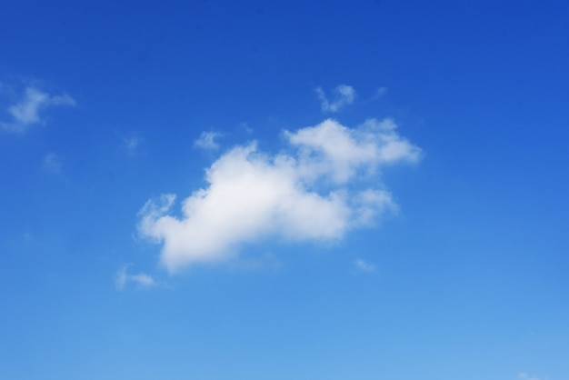 Clouds with blue sky nature of view.