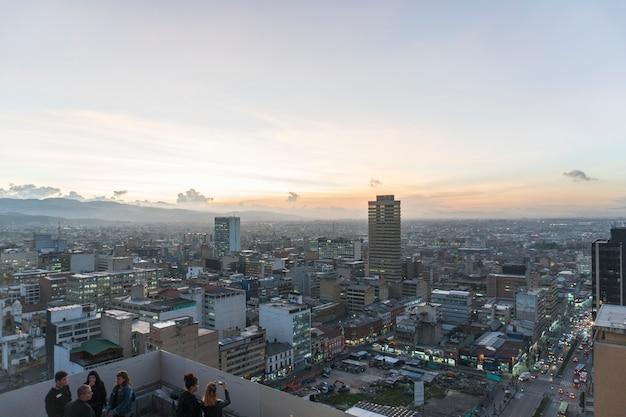 A cloudy day in bogotá
