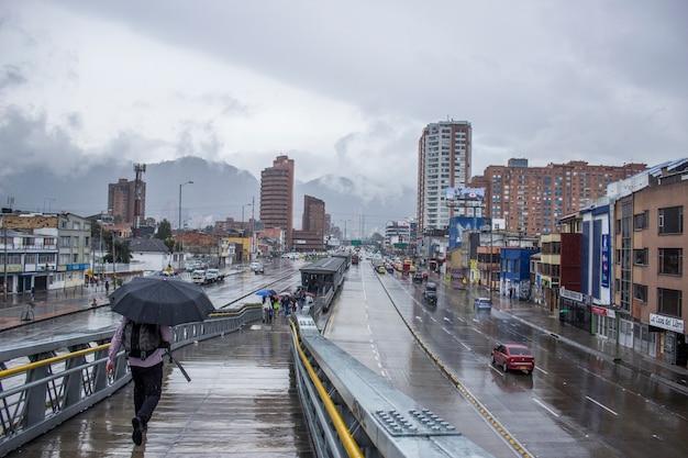 A cloudy day in bogota