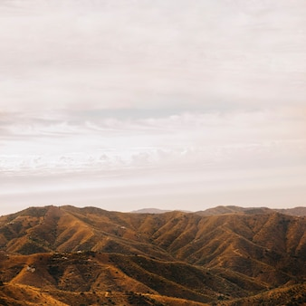 Cloudy landscape Free Photo