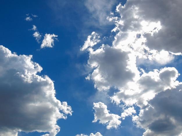 흐린 하늘 배경