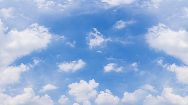 Cloudy sky panorama background image