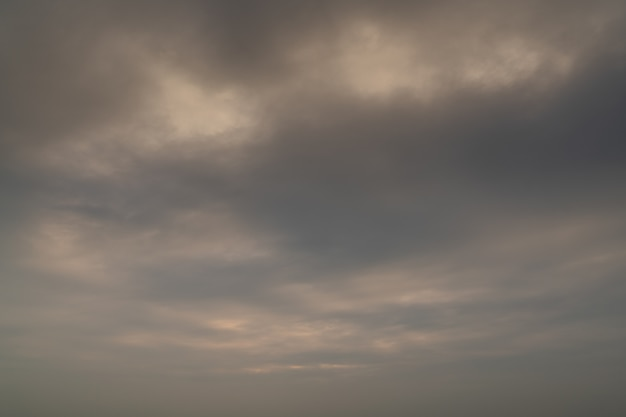 Cloudy sunset sky background