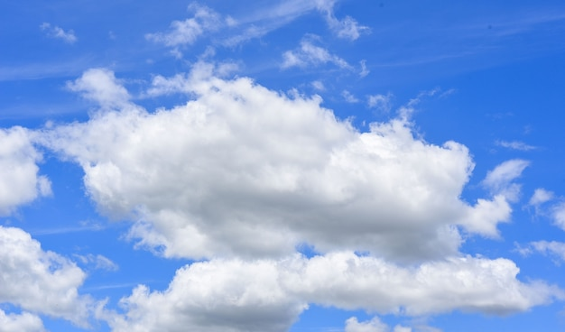 Clound in blue sky