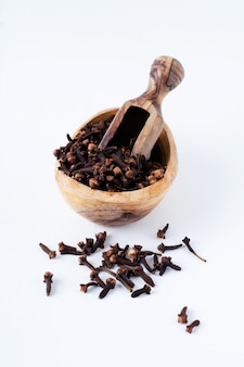 Cloves. dry seasoning for cooking and drinks isolated