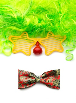 Лицо клоуна