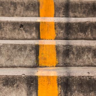 古いコンクリート階段clsoeアップ