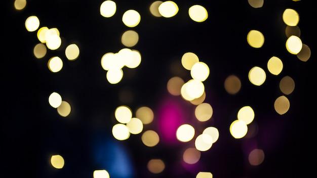 明るい光のクラスター