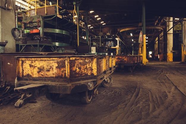 Coal car for moving coa.