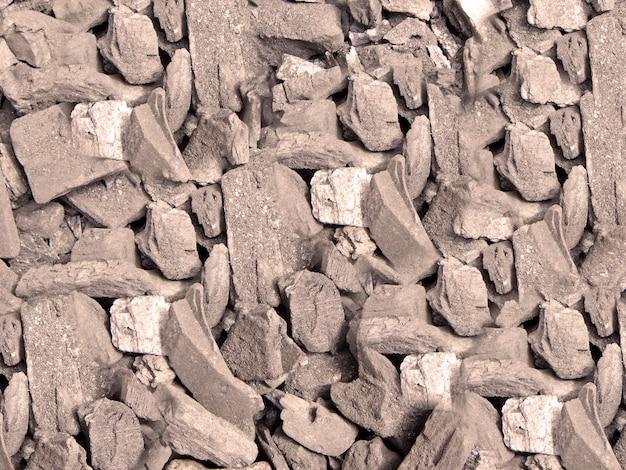 石炭の質感