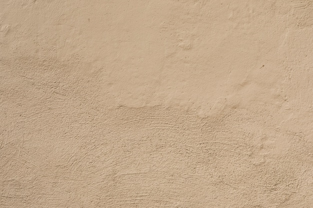 Coarse cement surface with brush strokes