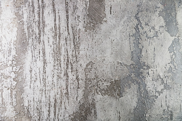 Coarse cement wall surface