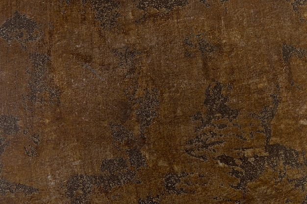 Coarse rust on metal