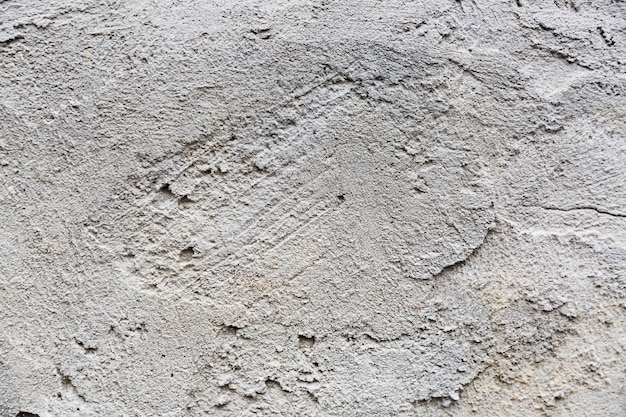 Coarse textured concrete wall