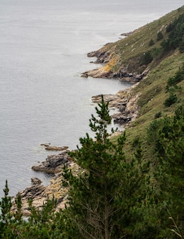 Coast of death from finisterre
