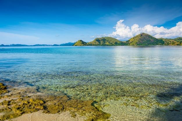 The coast of kelor island