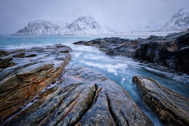 Побережье норвежского моря