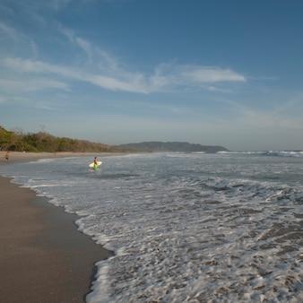 Coast rica seascape