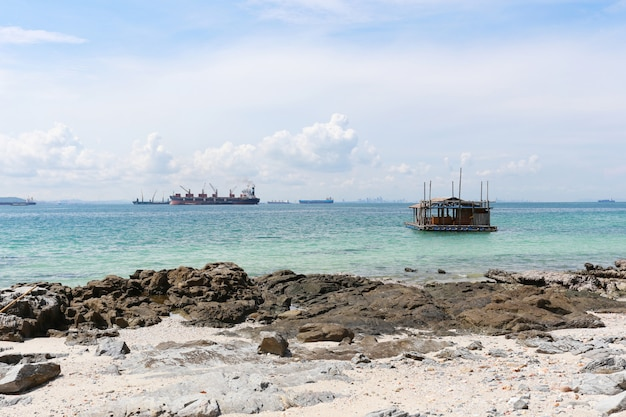 Coastal area of koh sichang in chonburi province