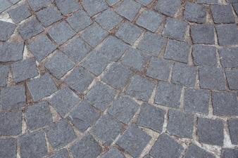Cobble stone road background