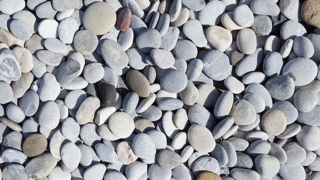 Морские камни cobble текстура с множеством цветов