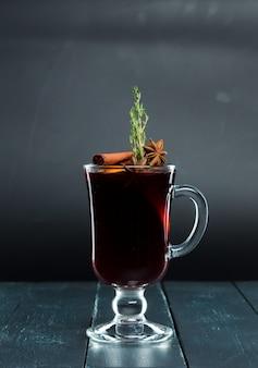 Cocktail on black