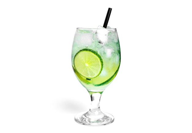 Cocktail isolated on a white background